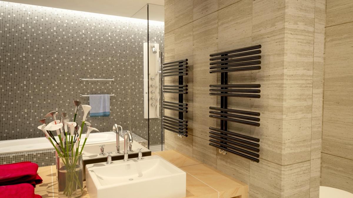 Scaldasalviette moderni bagno for Scaldasalviette bagno